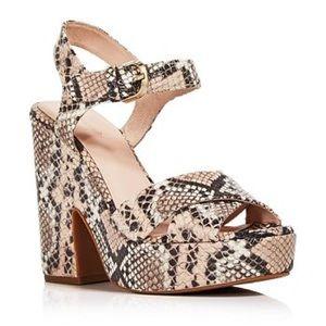 ♠️NWT Kate Spade Grace Platform Sandals
